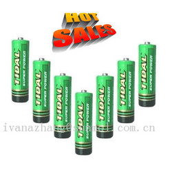 1.5v r6 aa size battery made in china
