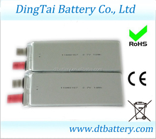 high discharge rate lipo punch cell 3.7V 10ah 1104157 15C lithium ion polymer battery cell