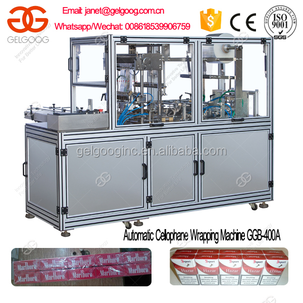 Automatic Toilet Soap Box/Laundry Soap Cellophane Wrapping Machine
