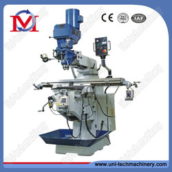Turret milling machine tool