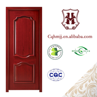 In China custom new designs finished solid wood interior doors