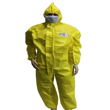 Disposable Chemical Protective Clothing/PP SMS Anti static Fire Retardant Coverall