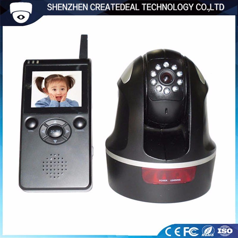 9988 2.4G Digital Pan-TILT-Zoom Wireless Baby Monitor for Home Security Hidden Camera
