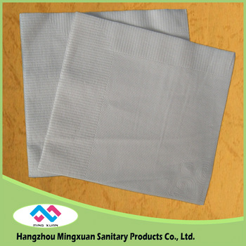 China manufacture wholesale 1-4 Folding Printed Tissue Beverage Paper Napkins