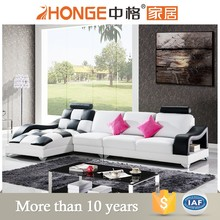 cheap beautiful home furniture drawing room leather l shaped sofa