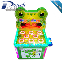 Coin Operated Frog Hitting Kids Arcade
