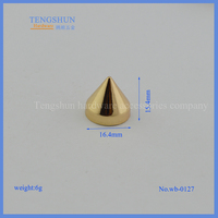 The punk nail or decorate nail for handbag or clothes hardware accessories wholesale