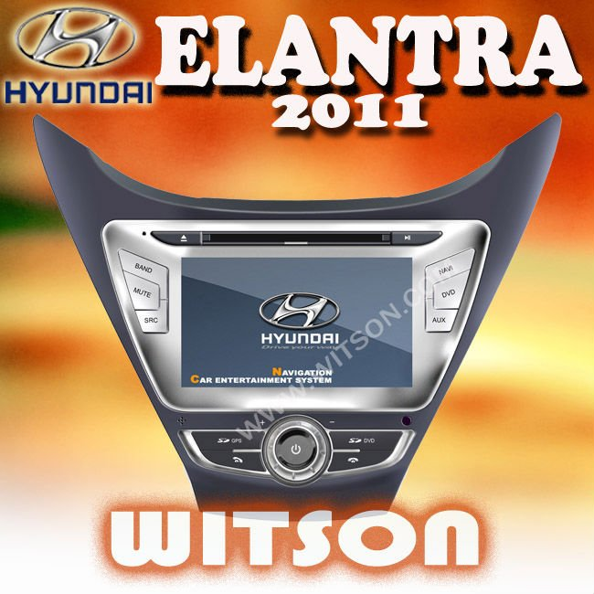 WITSON hyundai elantra dashboard with built-in Bluetooth
