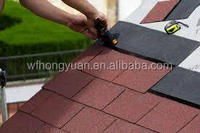 Professional manufacture competitive price fiberglass modified bitumen , 3-tab asphalt roofing shingles