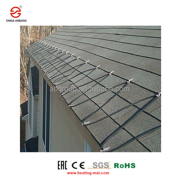Modified Polyolefin Roof and gutter heating cable to snow melting