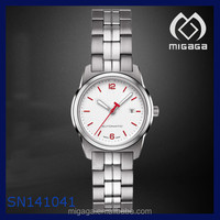 Automatic Mechanical all steel lady watch water resistant 10 bar