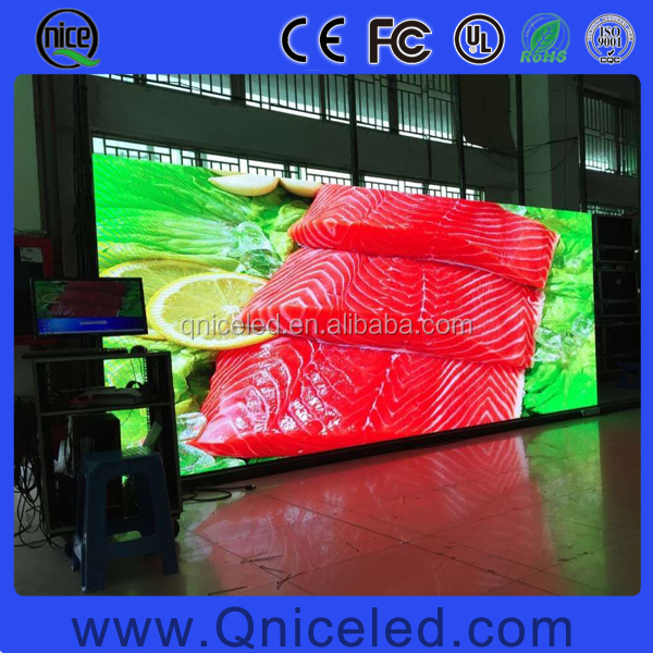 Pixel pitch 2mm LED video wall for indoor stage background,TV studio, showroom, exhibition