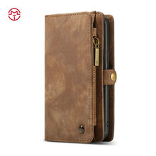 2017 CaseMe New Arrival Flip Mobile Phone Folding Stand Leather Case for iphone 7
