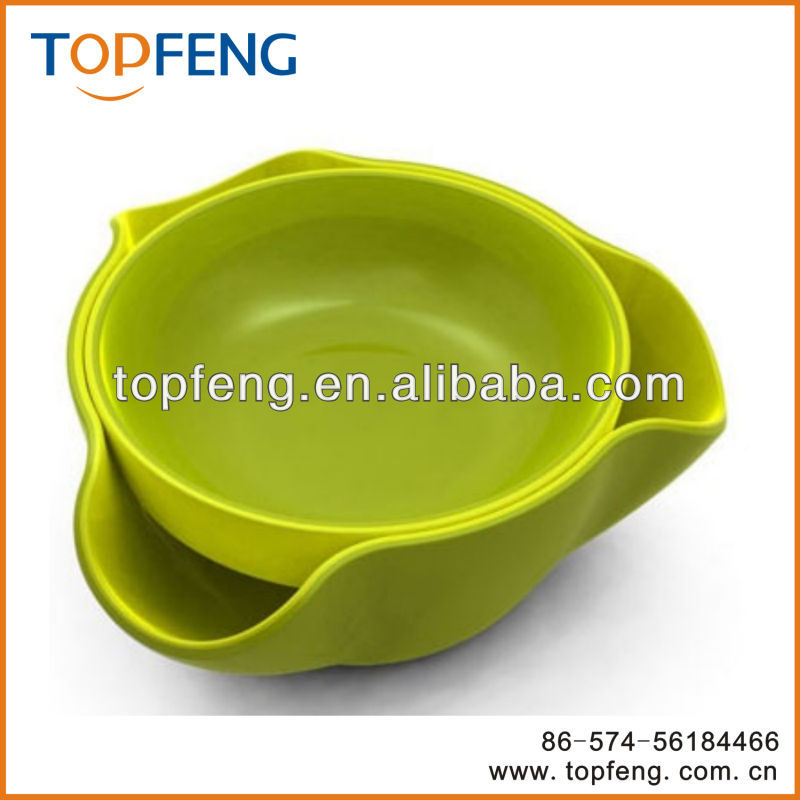 double dish,two-layer dish/plate