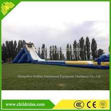 inflatable slip and slide for adults, giant attractive inflatable bouncer for sale