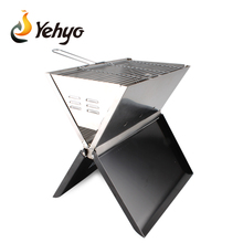 Portable Notebook Charcoal BBQ Grill