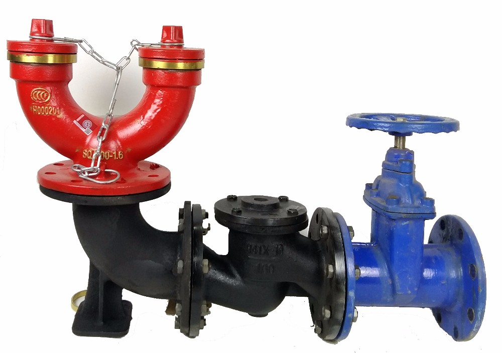 Superior Quality Under-ground Type Fire water Pump Siamese connection