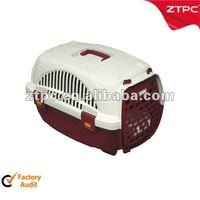 Plastic cat carrier, pet cage