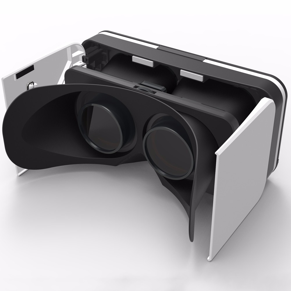 "Universal 3D Virtual Reality VR Glasses Movie Game Video TV 3D Viewing Glasses For 3.5- 6.0"" Mobile Phone"