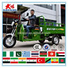 adult India 175cc ISO9001 4-stroke engine 200cc three wheel motorcycle made in China