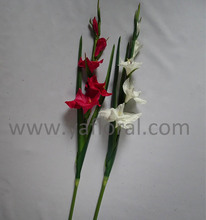 Best selling high quality artificial fake orchid gladiolus for hotel decoration