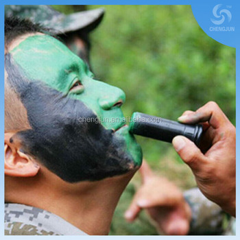 3 color Face Camouflage Painting Oil