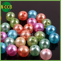 Fashion fake pearl strand beads,round rolls of beads pearl