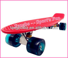 "Penny Board banana Style 22""X6"" Retro deck mini cruiser (CE & ASTM Certificated)"