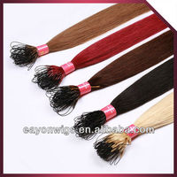 premium quality best price micro ring hair extension