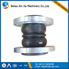 high flexible double sphere rubber expansion joints