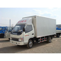 China T-king cheap 2 ton mini cargo van for sale