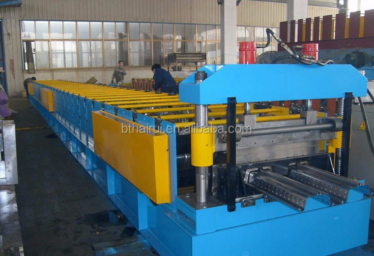 China price floor deck roll forming machine,steel decking floor roll forming machine,floor deck tile making roll forming machine