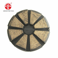 Metal bonded Diamond Grinding Redi Lock System Pad for terrazzo and stone