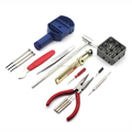 16 in 1 Household DIY Opening Watch Watchmaker Repairing Tool Kit Set With Blister Card Pack