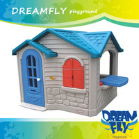 The most popular children's plastic cubby house