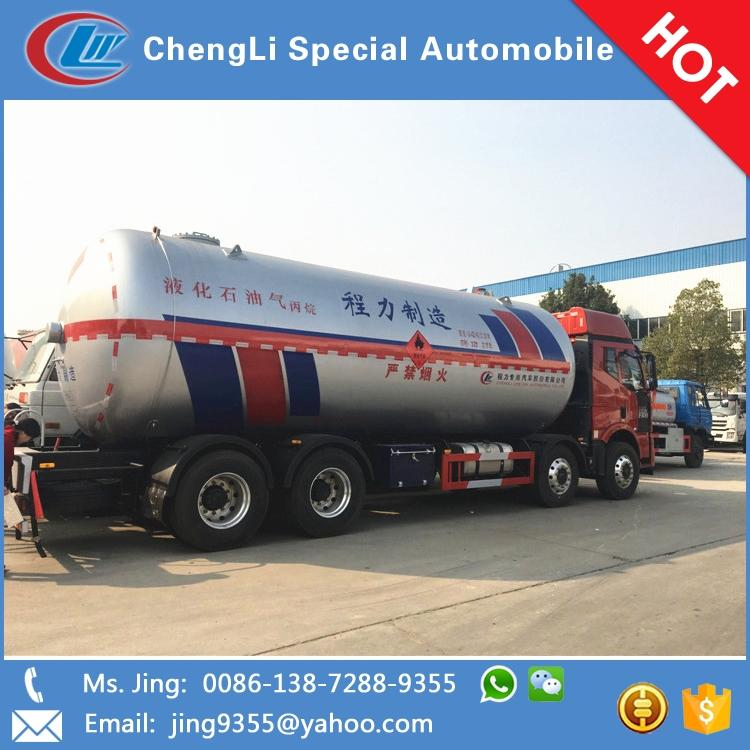 High quality faw 15 tons propane gas delivery trucks for sale in Namibia