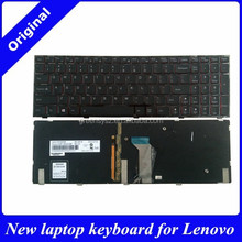 New for Lenovo Y500 Y500N Y510P wholesale laptop keyboard internal us layout backlight