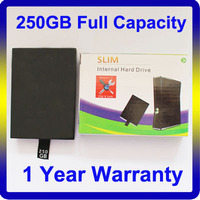 Cheap Price 250GB Slim HDD for Xbox 360 Console for Xbox 360 Hard Drive with Full Capacity
