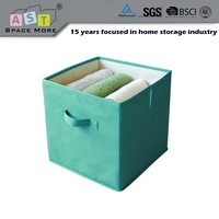 Foldable fabric storage box storage box lead lined for kids toy