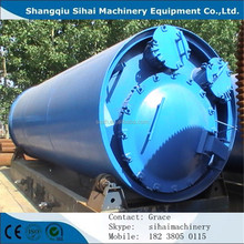 waste to tire oil refining machine from Shangqiu Sihai with CE and ISO