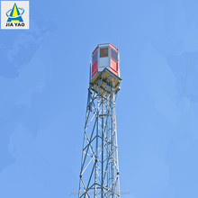 bolt connected angle steel prefabricated steel structure guard tower