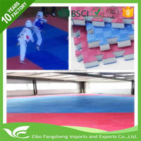 5cm play gym tumble crash safety mat/safety mat exercise pu air track Five lines