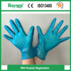 Medical disposable vinyl examination glove powder free clear