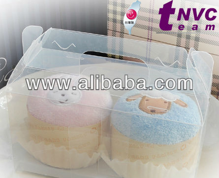 Taiwan Excellence - Cake Towel 05 - Present Gift for Wedding, Holiday, Anniversary and Any Occasions