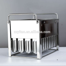 40 pcs capacity stainless steel popsicle mold suitable for the machine