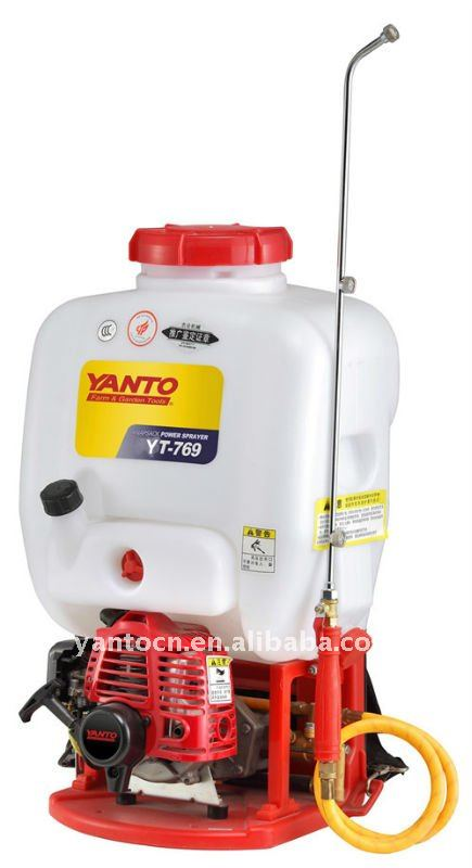 knapsack power sprayer YT769 with 15L tank