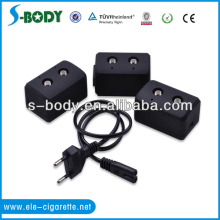 2013 newest usb charger for ego battery with 2 charging hole be able to charging 2 ego batteries at the same time from S-body