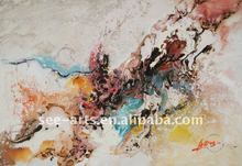 canvas Art hand abstract new fabric painting designs