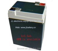 4v sealed lead acid battery 4v 5ah VRLA battery for ups systems 4v rechargeable battery