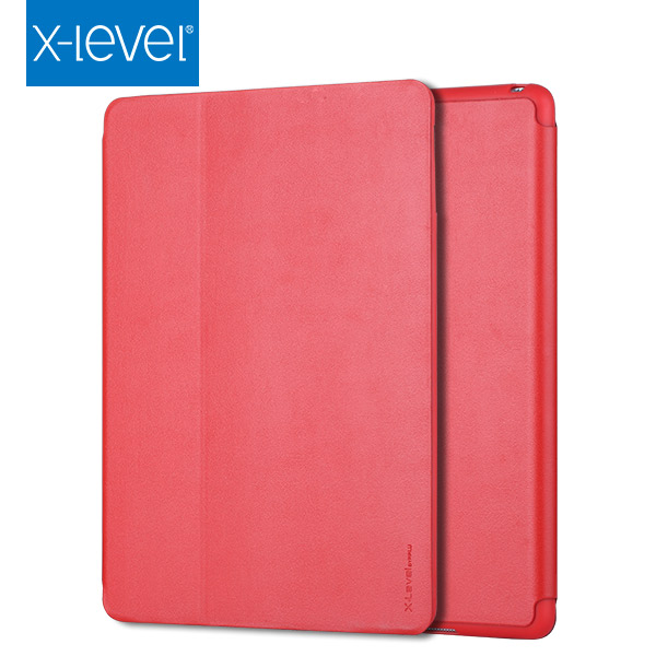 X-LEVEL Newest Product 10% Off Wholesales 7.9 Inch Case Red For Ipad Mini 4 Smart Case